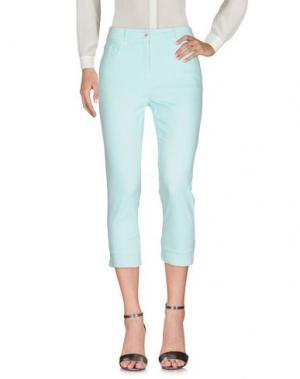 Повседневные брюки PAUSE CAFÉ. Цвет: светло-зеленый