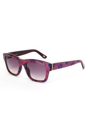 Очки солнцезащитные Loewe. Цвет: розовый