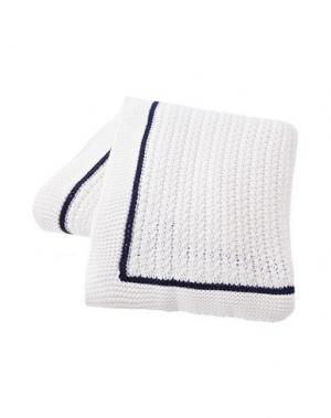 Одеяло LEXINGTON. Цвет: белый