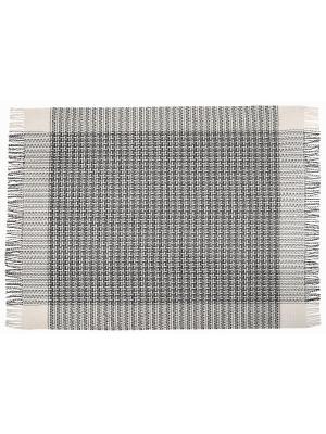 Плед Cappuccino, 140х200 VLADI. Цвет: серый, белый, голубой