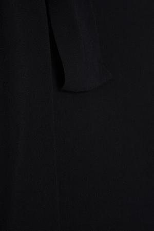 Блузка с бантом Inshade. Цвет: черный