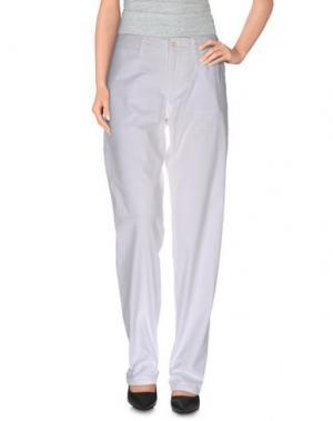Повседневные брюки MER DU NORD. Цвет: белый