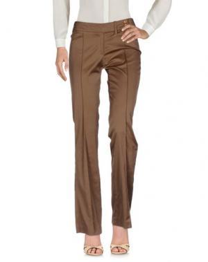 Повседневные брюки EMISPHERE. Цвет: коричневый