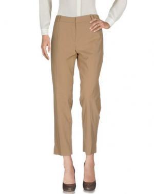 Повседневные брюки CARVEN. Цвет: песочный