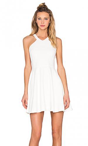 Платье скейтер Bishop + Young. Цвет: белый