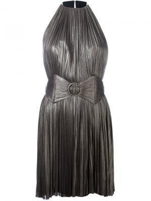 Платье мини Chalaya Maria Lucia Hohan. Цвет: серый