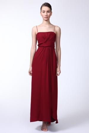 Платье Elie Tahari. Цвет: бордо