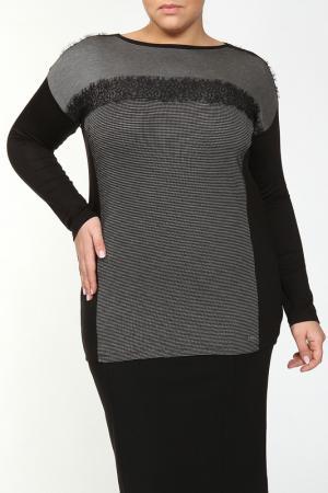 Блуза PER TE BY KRIZIA. Цвет: черный