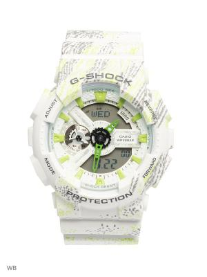 Часы G-Shock GA-110TX-7A CASIO. Цвет: белый