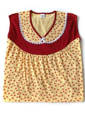 Ночная сорочка Proto. Цвет: желтый