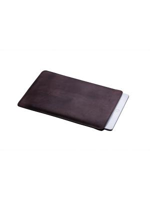 Кожаный чехол  для iPad Mini 1/2/3/4. Smoky With Love. Moscow. Цвет: темно-серый