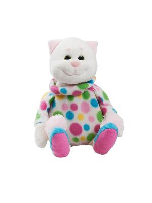Котик-грелка Fancy. Цвет: белый, зеленый, голубой, розовый
