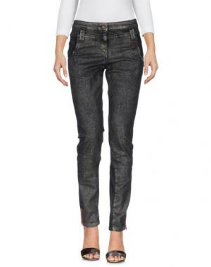 Джинсовые брюки DANIELA DALLA VALLE ELISA CAVALETTI. Цвет: стальной серый