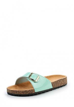 Сабо Ideal Shoes. Цвет: мятный