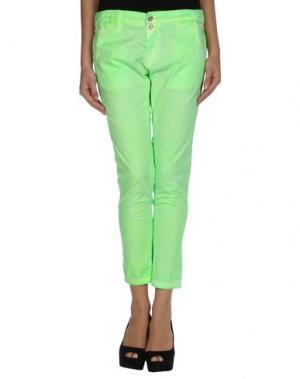 Повседневные брюки MICHAEL DASS. Цвет: светло-зеленый