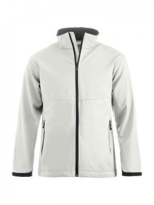 Куртка Clique. Цвет: белый