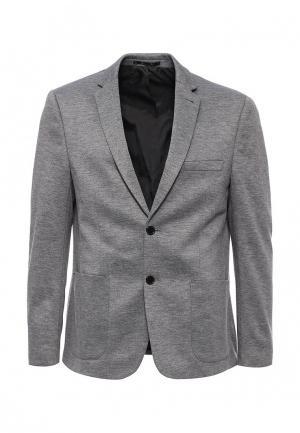 Пиджак Burton Menswear London. Цвет: серый