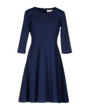 Короткое платье CORTE dei GONZAGA. Цвет: темно-синий