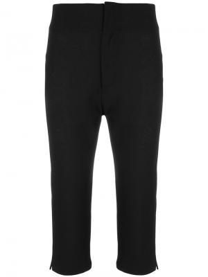 Укороченные строгие брюки Jacquemus. Цвет: чёрный