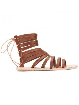 Сандалии Galatia Ancient Greek Sandals. Цвет: коричневый