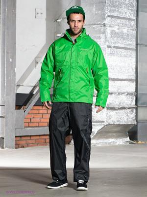 Спортивный костюм DIDRIKSONS. Цвет: черный, зеленый
