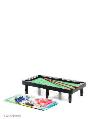 Настольная игра 7-в-1 1Toy. Цвет: зеленый