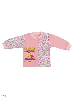 Кофта для новорожденных Bonito kids. Цвет: розовый