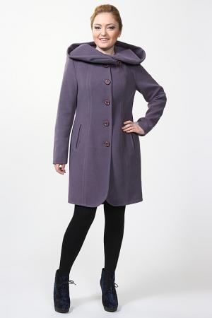 Пальто Exclusive. Цвет: фиолетовый