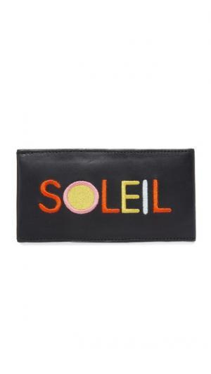 Чехол для очков с надписью «Soleil» Lizzie Fortunato