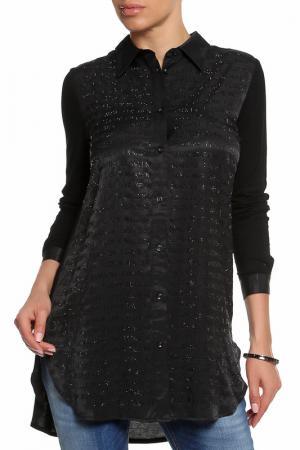 Блузка Malvin. Цвет: черный