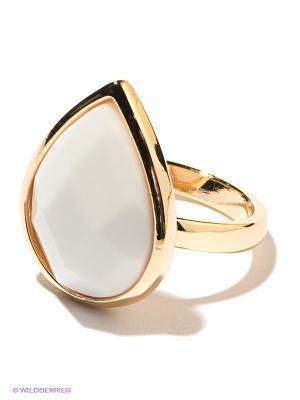 Кольцо Infiniti. Цвет: белый, золотистый