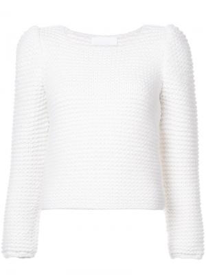 Текстурированный джемпер Co. Цвет: белый
