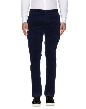 Повседневные брюки MOLO ELEVEN. Цвет: темно-синий