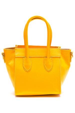 Сумка LUISA VANNINI. Цвет: желтый