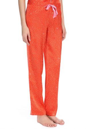 Брюки Juicy Couture. Цвет: красный