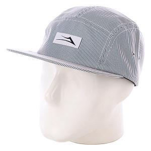 Бейсболка  Pinstripe Camper Grey Lakai. Цвет: белый,синий