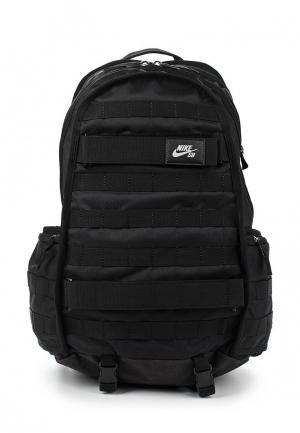 Рюкзак Nike. Цвет: черный