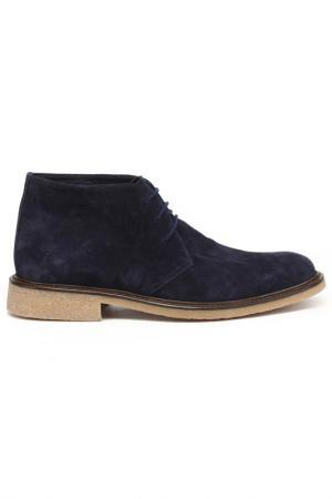 Ботинки DERIMOD. Цвет: темно-синий