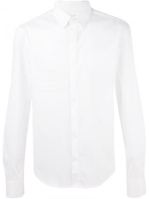 Классическая рубашка Wooyoungmi. Цвет: белый