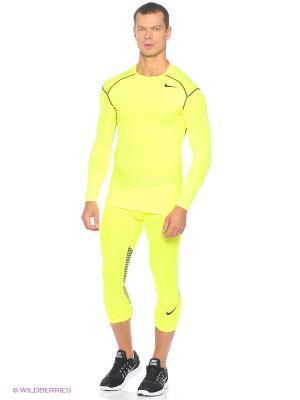 Лонгслив HYPERCOOL COMP LS TOP Nike. Цвет: желтый