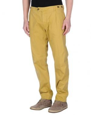 Повседневные брюки AVIO. Цвет: песочный