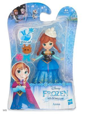 Кукла мини Холодное сердце Hasbro. Цвет: синий, голубой, прозрачный