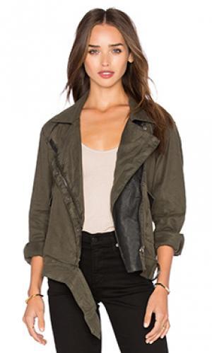Мото куртка BLANKNYC. Цвет: военный стиль