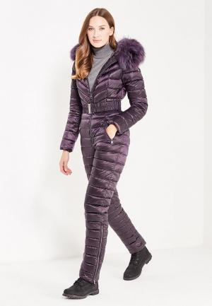 Комбинезон утепленный Conso Wear. Цвет: фиолетовый