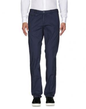 Повседневные брюки JAGGY. Цвет: темно-синий