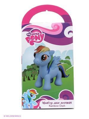 Набор для лепки My little Pony Сделай фигурку радуги Играем вместе. Цвет: голубой