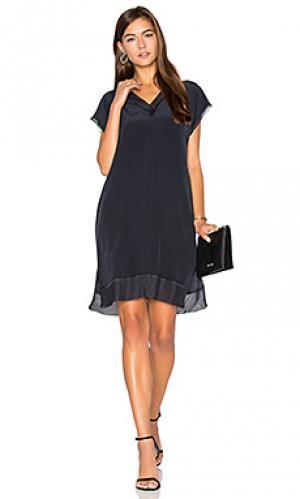 Платье manon CHARLI. Цвет: синий