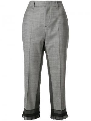 Укороченные брюки Prada P297AS1811QL812580199