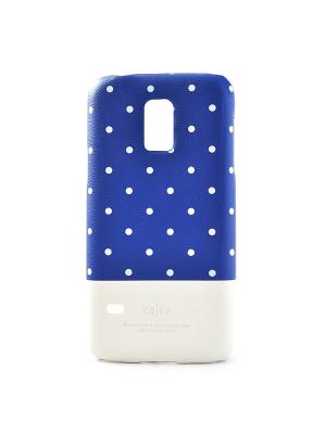 Чехол для Samsung S5 mini Neon Dot back case, Blue Kajsa. Цвет: синий