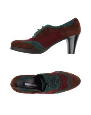 Обувь на шнурках GUGLIELMO ROTTA. Цвет: коричневый